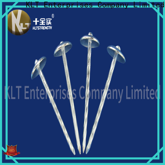 KLTSTRENGTH High-quality galvanized coil roofing nails factory