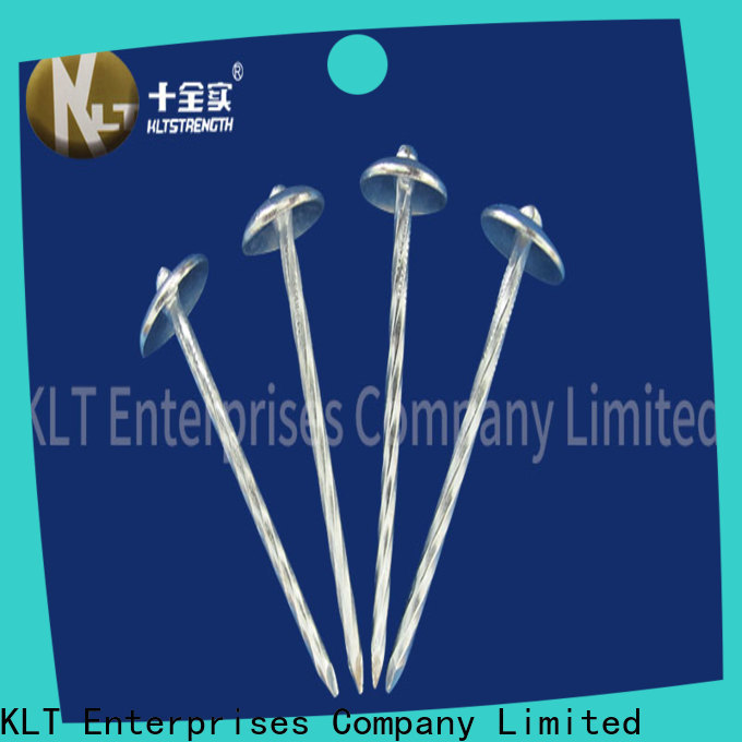 KLTSTRENGTH Wholesale zinc coated roofing nails factory
