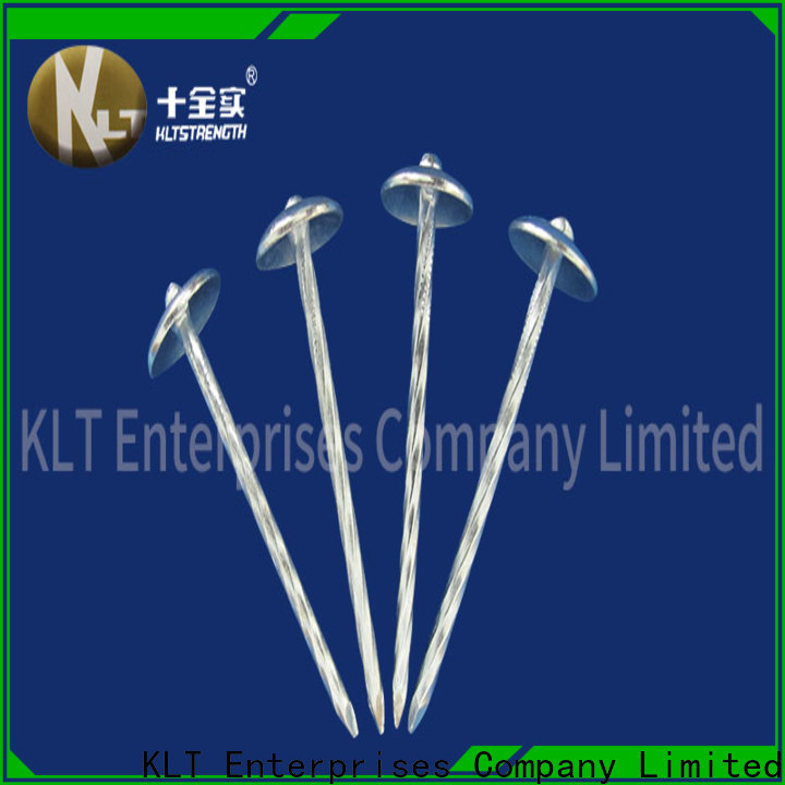 KLTSTRENGTH Latest stainless steel roofing nails factory
